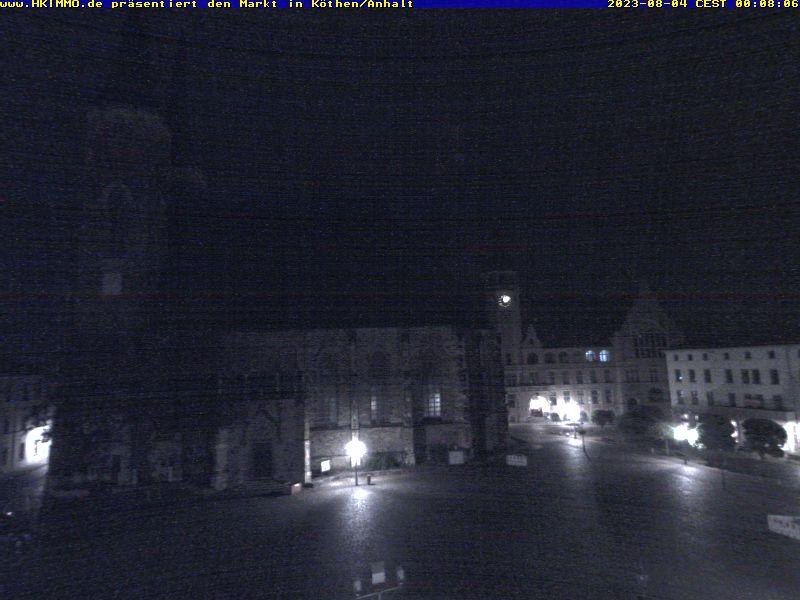 Bild für die Handyversion der Webcam vom Marktplatz Köthen/Anhalt