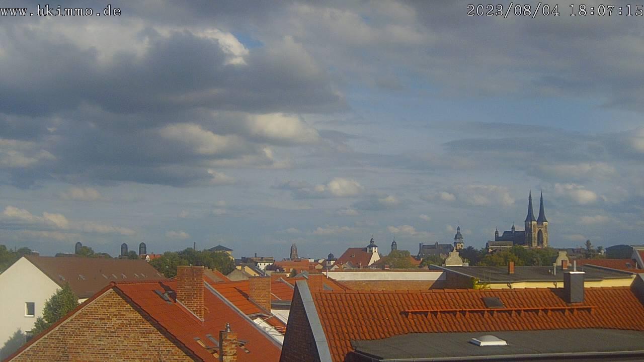 Bild für die Handyversion der Skylinewebcam von Köthen/Anhalt