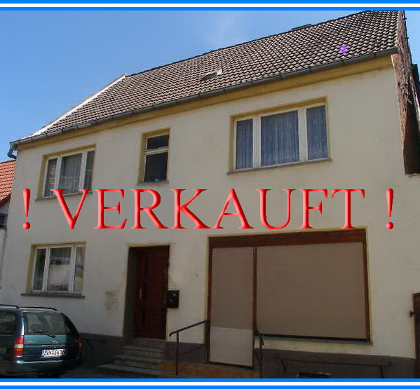 Zweifamilienhaus in Schönebeck