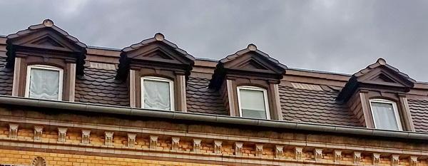 Dachschaden nach einem Sturm