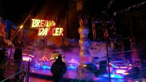 Break Dancer auf dem Marktplatz