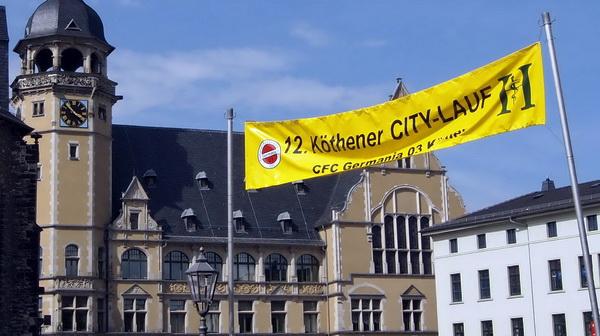 Köthener Citylauf 2017 Innenstadt