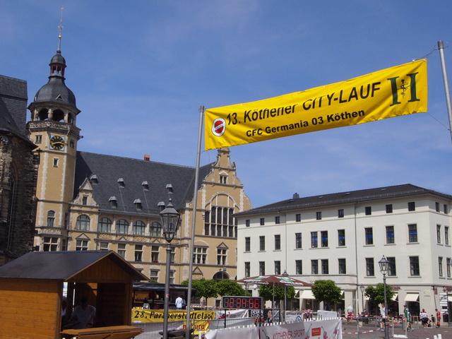13. Citylauf Köthen organisiert vom CFC Germania 03