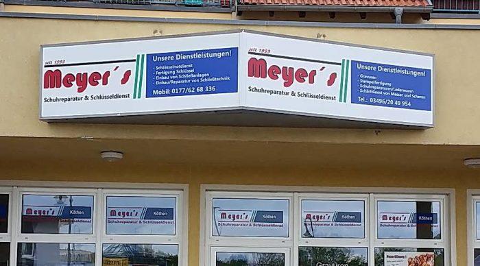 Meyer's Schuhreparatur und Schlüsseldienst in Köthen