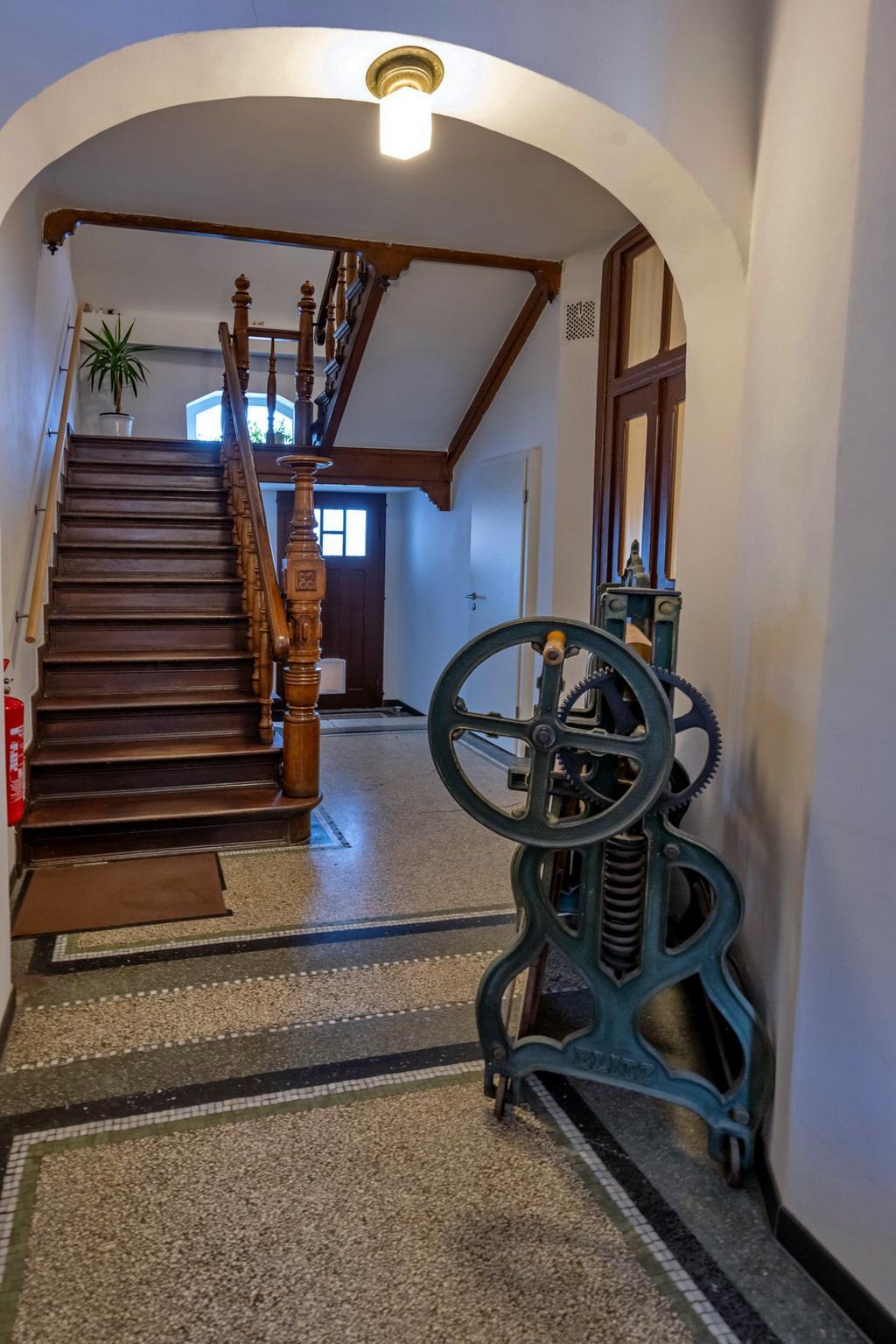 Seniorenwohnanlage in Aken – Erdgeschoß Treppenhaus