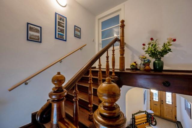 Seniorenwohnanlage in Aken – Treppenhaus Zugang zum Obergeschoß