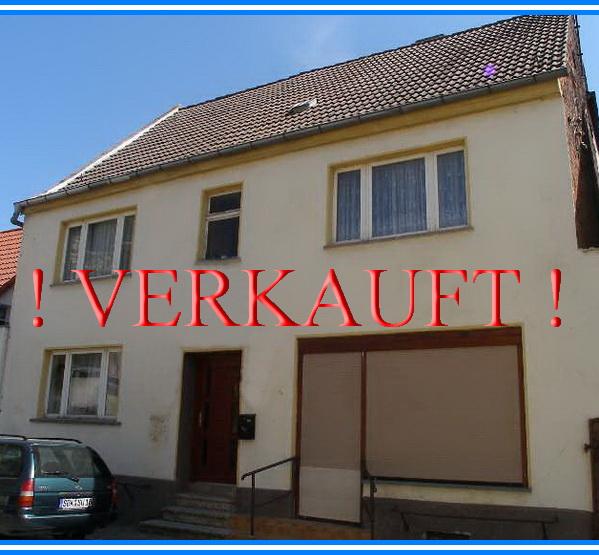 Zweifamilienhaus in Schönebeck - 2014