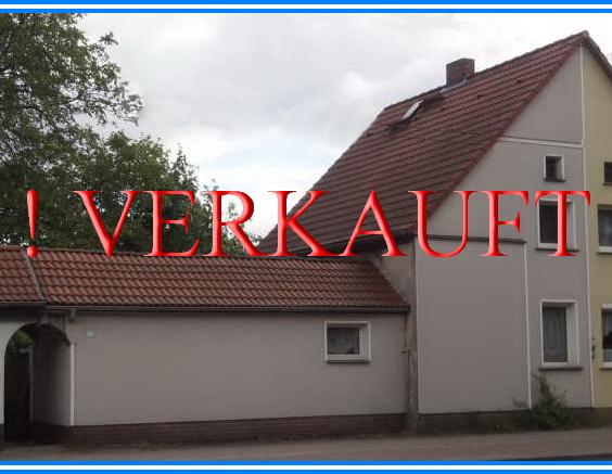Doppelhaushälfte in Dessau