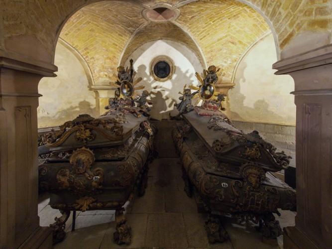 Fürstengruft in der Jakobskirche von Köthen