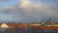 Skylinewebcam-Köthen-2015-03-31-Regenbogen
